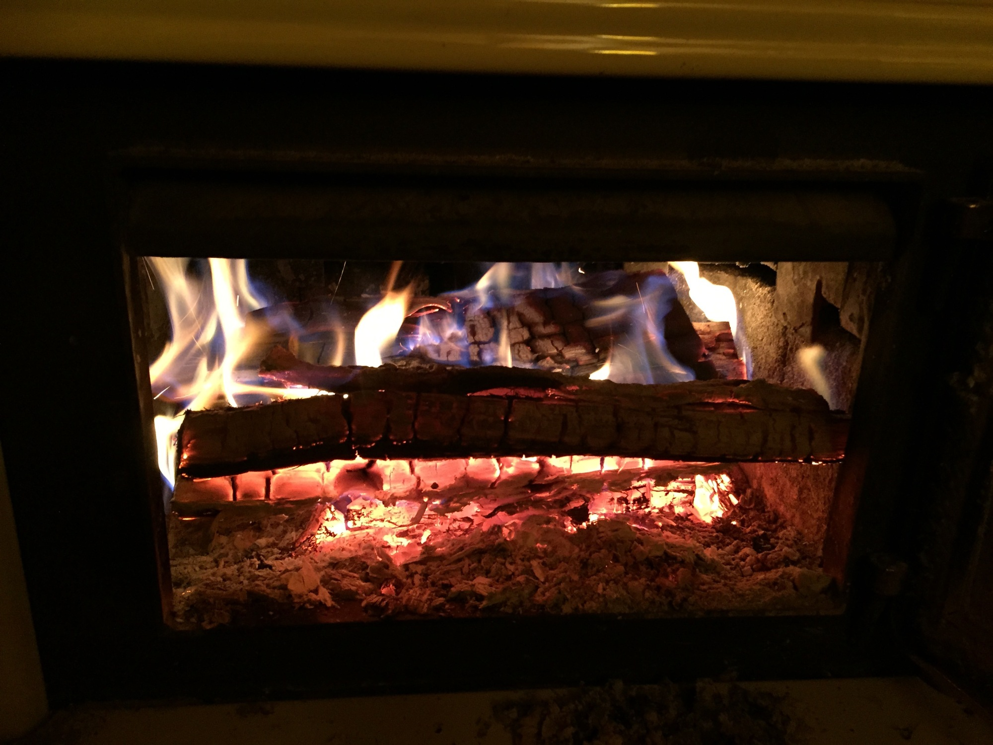 use wood ash from the fireplace for your garden